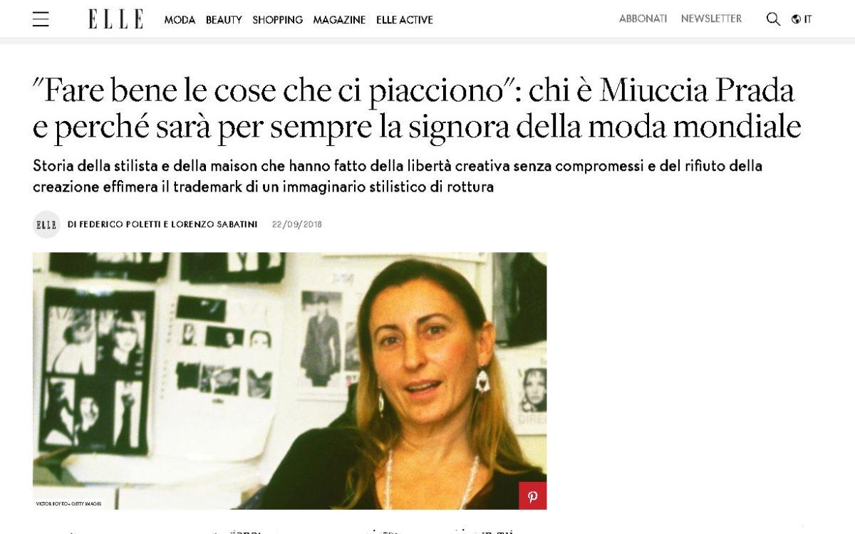 miuccia prada elle - tagged - editor creativo