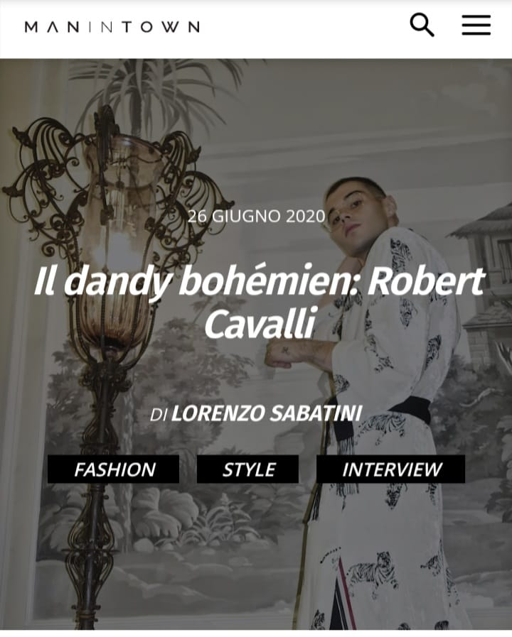 robert cavalli - share - editor creativo