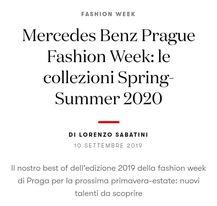 vogue italia praga fashion week - share - editor creativo